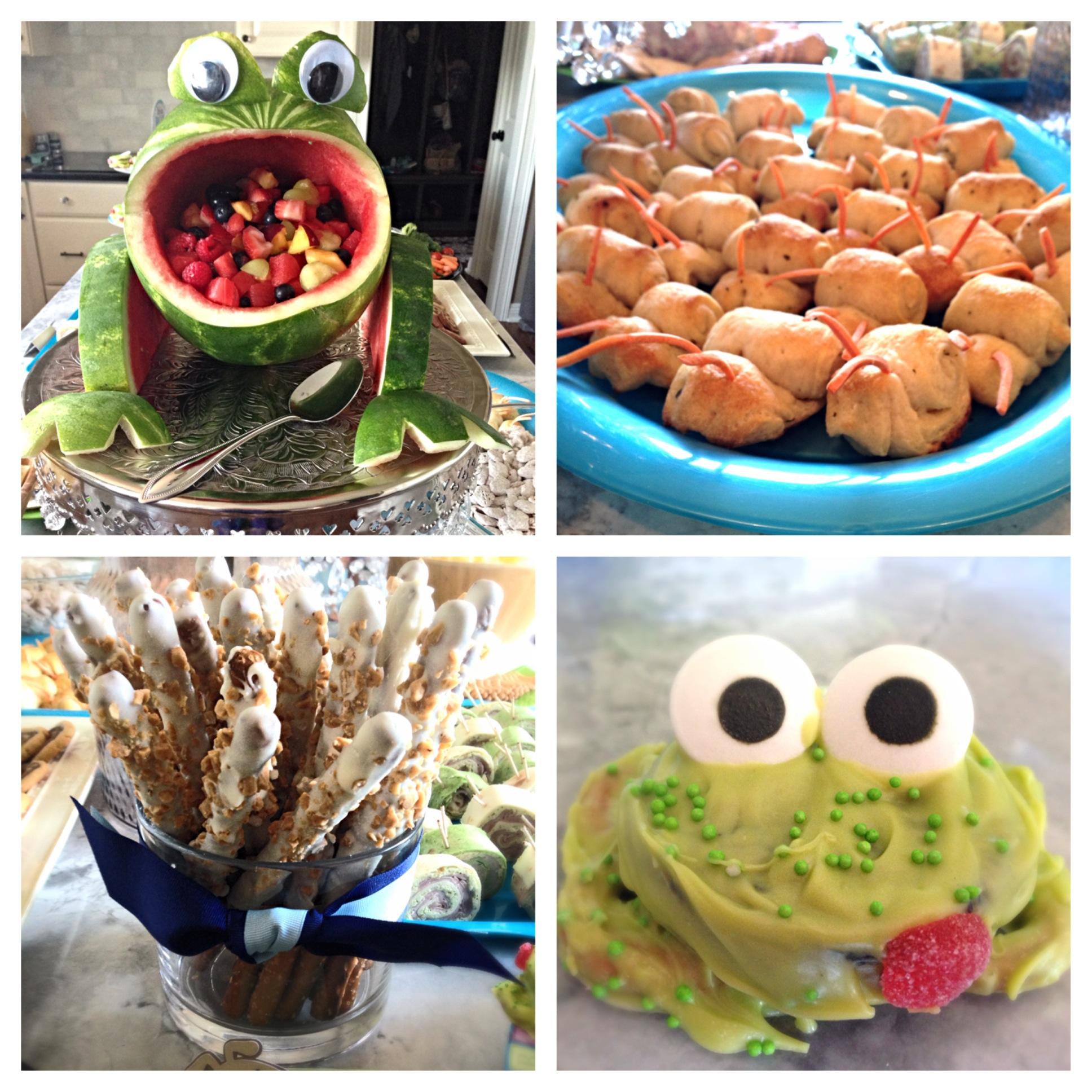 Frog Snails And Puppy Dog Tails Birthday