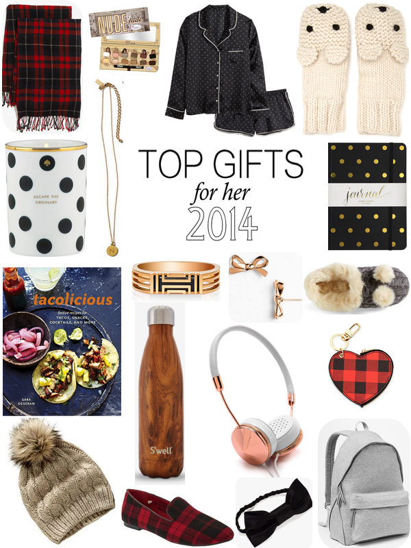 top gifts for her 2014
