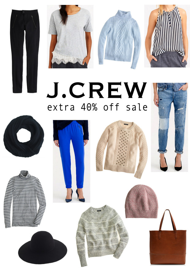 JCrew Extra 40% Off Sale