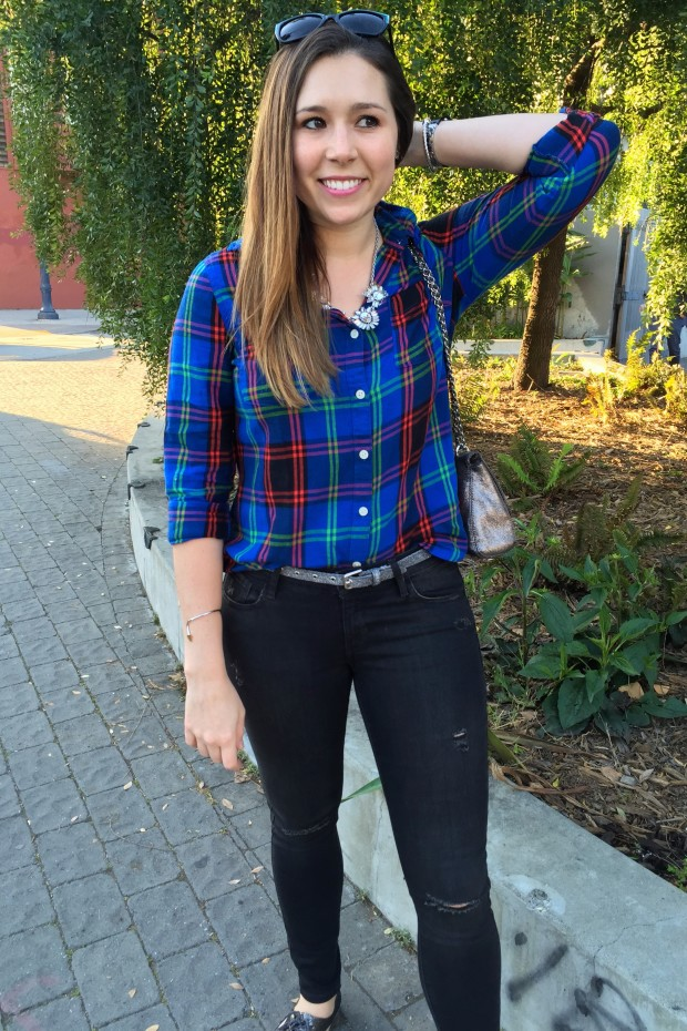 Sparkle in Plaid 5