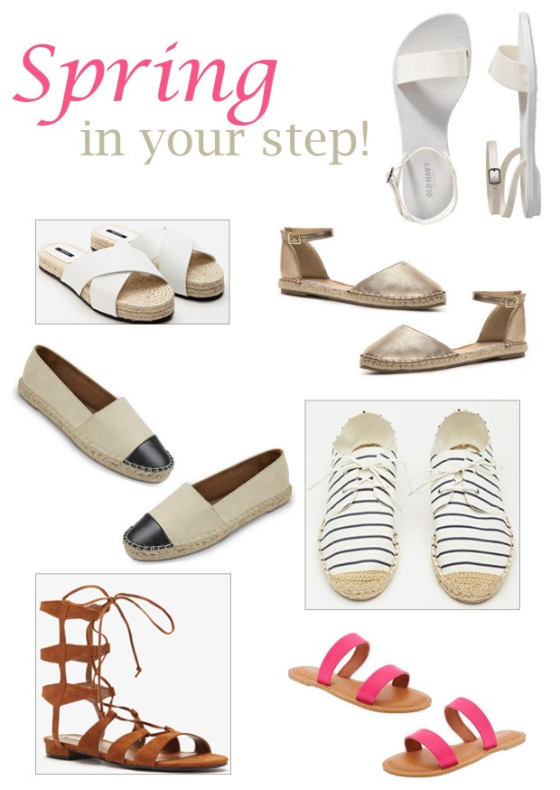 Spring in your Step- Shoe Trends