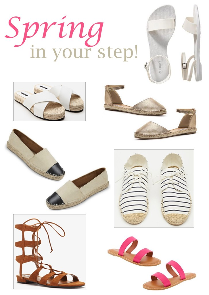 Spring in your Step- Spring Shoe Trends