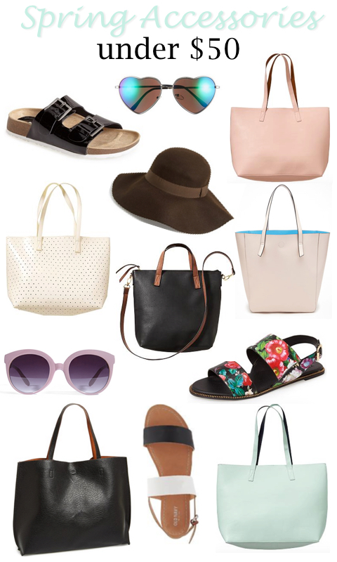 Spring Accessory Trends on a Budget