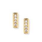 April Rocksbox Gorjana Mave Shimmer Mini Studs