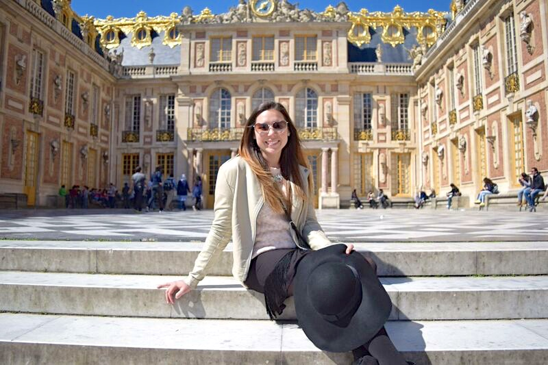 Pink in Paris at the Palace of Versailles 12
