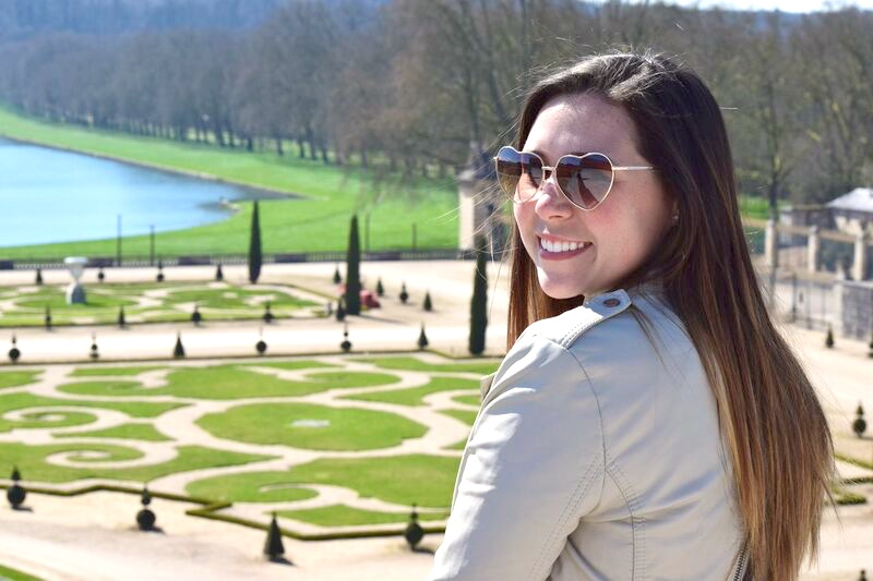 Pink in Paris at the Palace of Versailles 15