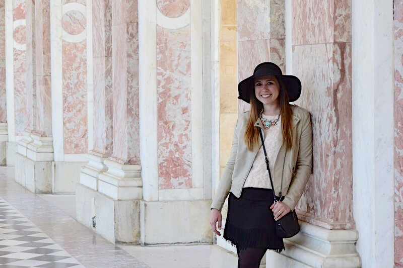 Pink in Paris at the Palace of Versailles 18