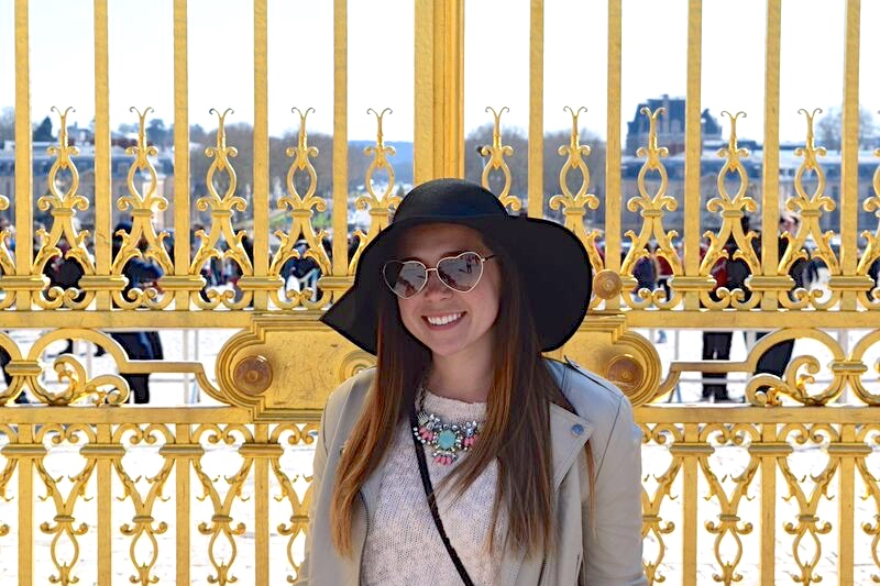Pink in Paris at the Palace of Versailles 3