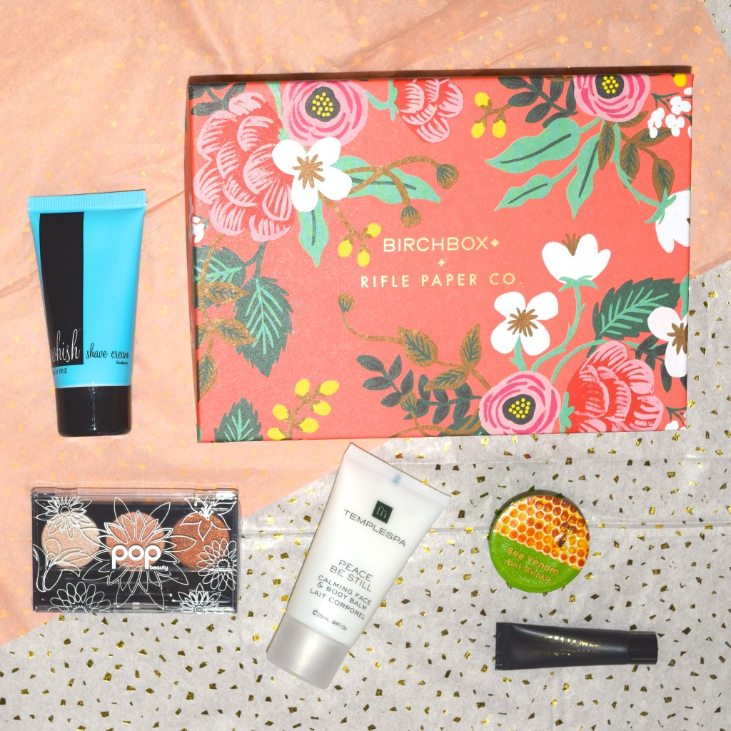 April Birchbox Review 2015
