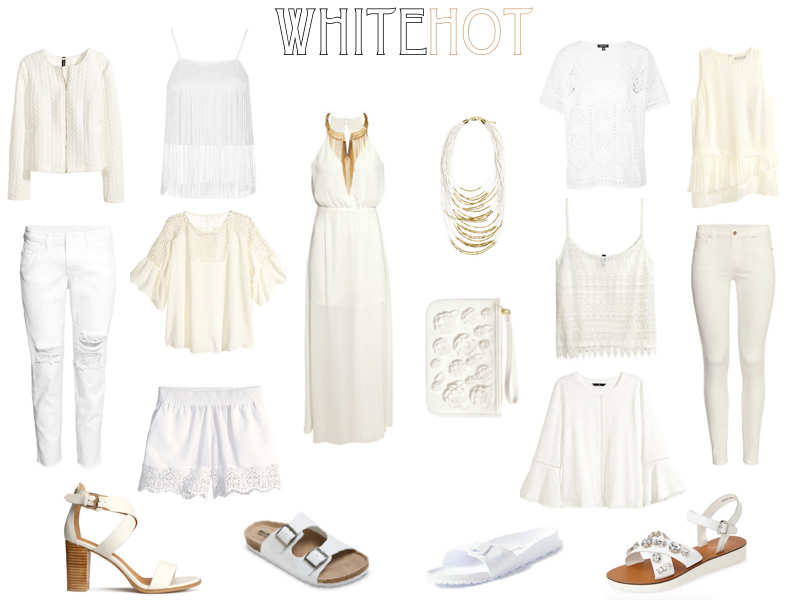 Summer's Hottest- The All White Trend