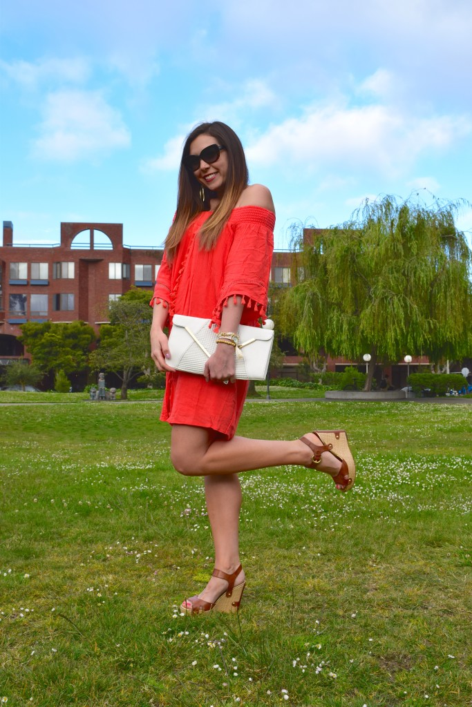 Coral Dress 11