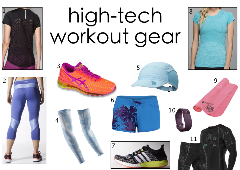 high-tech workout gear