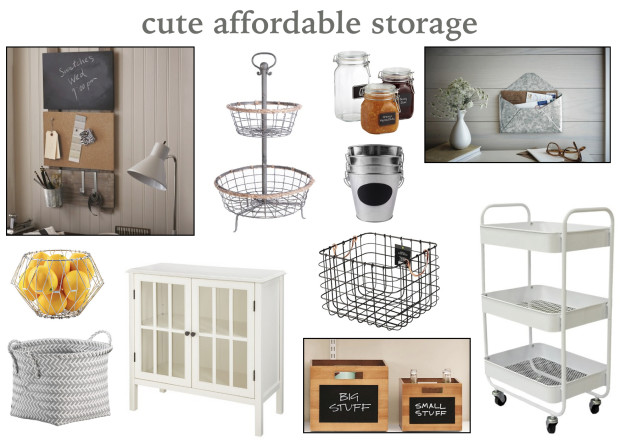 cute affordable storage
