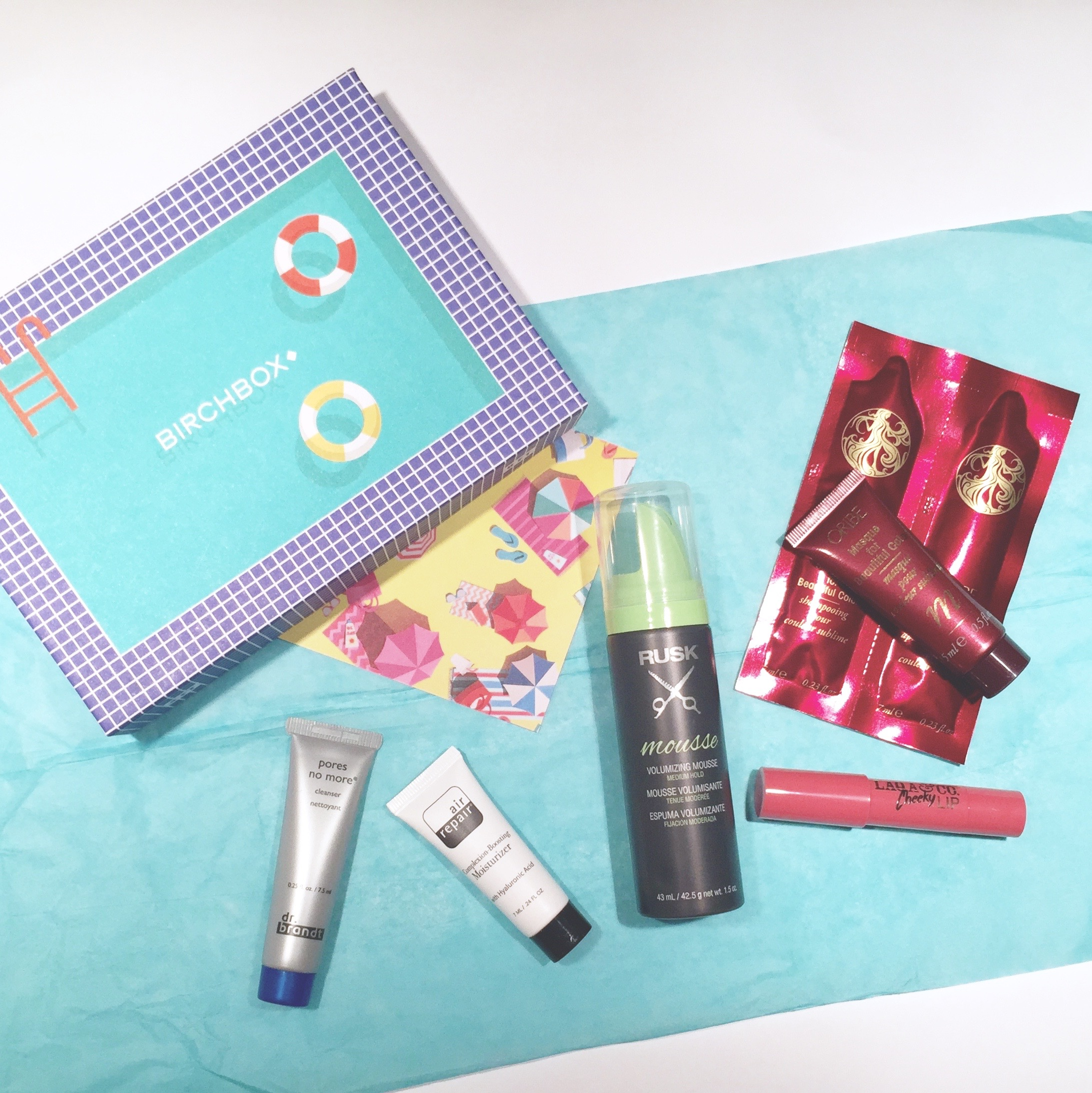 August Birchbox Review 2015 Glamourita