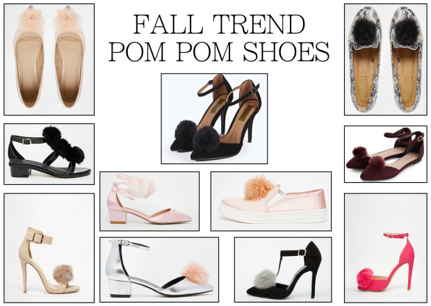 FALL SHOE TREND- POM POM SHOES